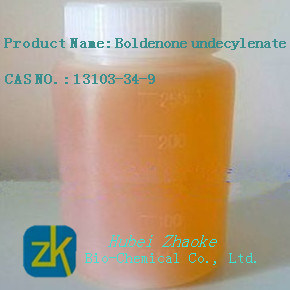 Boldenone Undecylenate Steroid Hormone Light Yellow Liquid pictures & photos