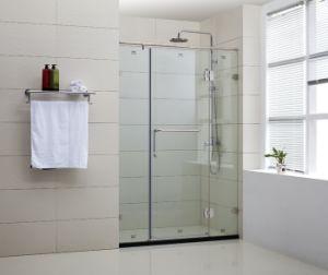 Frameless Hinge Shower Door (WLP-003)
