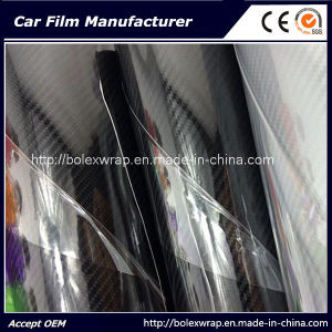 High Glossy Car Carbon Fiber Wrap Vinyl Film 5D Carbon Fiber Wrap, 4D Texture pictures & photos