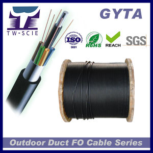 2 Core Sm Aluminum Armored Fiber Optic Cable GYTA pictures & photos