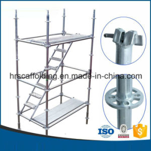 Q345 Q235A B 3.2-3.25mm Thickness Ringlock Scaffold Layher System 001 pictures & photos