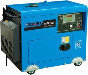 3 Kw Portable Silent Diesel Welding Generator Set (RPD6700IW) pictures & photos