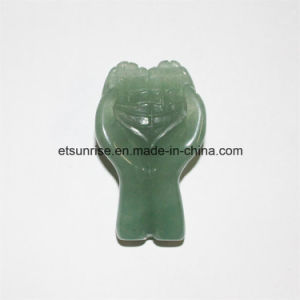 Semi Precious Stone God Hand Carving Craft pictures & photos