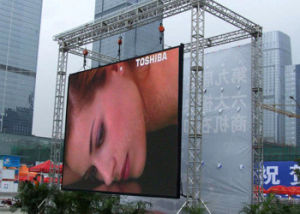 Slim Outdoor Rental P10mm Full Color LED Screen with SMD3535 pictures & photos