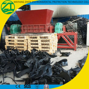 Double Shaft Scrap Metal/Wood/Tire/Plastic/Foam Shredder for Sale pictures & photos