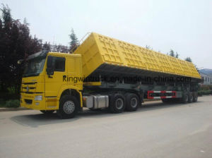 China Cimc Brand Side Tipper Trailer
