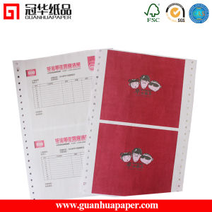 Pre-Printed Computer Printing Paper Made of Copy Paper pictures & photos