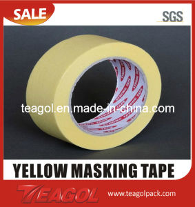Yellow Masking Paper Tape pictures & photos