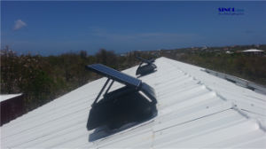 Adjustable PV Solar 30W Solar Power Exhaust Vent for Roof with 14inch Fan Blade (SN2014008) pictures & photos
