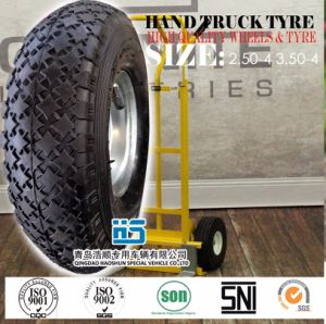 Hand Truck, Platform Trolley, Appliance Dolly, Cart Tyre 3.50-4 pictures & photos