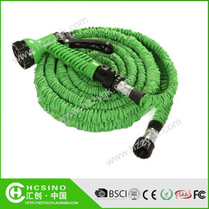 China Collapsible Latex On Off Valve Home Expandable Garden Water Hose Nozzle Pipe China