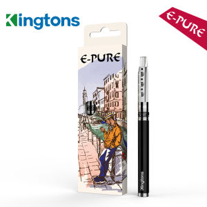 Blister Box Packing 400mAh Refillable Hookah Hose, Best Vapor Tool E-Pure Rechargeable Hooak in Stock pictures & photos