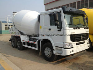 Sinotruk Brand Concrete Mixer Truck with 6X4 Driving Type