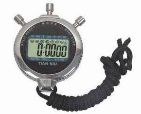 Metal LCD Stopwatch