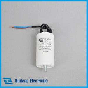 Cbb60 450VAC AC Motor Cable Series Capacitor pictures & photos