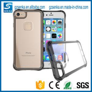 Anti-Crash Shockproof Transparent TPU Phone Case for iPhone 6/7 pictures & photos