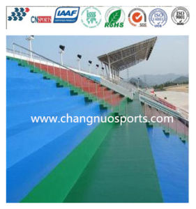 Wearable Leisure Area Flooring of Stadium Grandstand/Parking Lot/Playground/Square pictures & photos