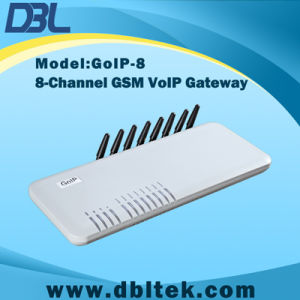 VoIP: GSM Wireless Terminal/8 Channel GSM Gateway (GoIP 8) pictures & photos