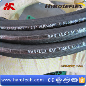 Hydraulic Hose SAE100 R5 From Professional Rubber Hose Manufacturer pictures & photos