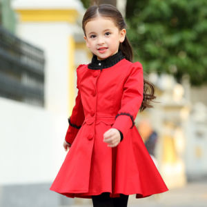 Factory OEM Latest Dress Coat Designs School Uniform for Girls pictures & photos