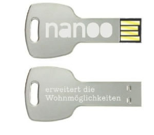 Key USB Flash Drives with Custom Logo Available pictures & photos