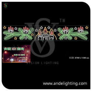 LED 2D Cross Street Motif Light for Christmas Outdoor Decoration pictures & photos