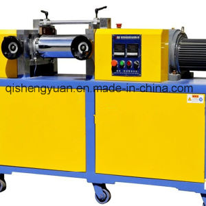2016 Hot New Type 6 Inch Lab Two Roll Rubber Mixing Mill (BOTH ROLL SPEED ADJUSTABLE) pictures & photos
