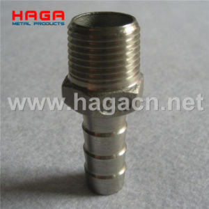 Stainless Steel Hex Hose Nipple Threaded Pipe Fitting pictures & photos