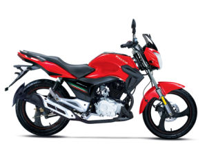 Robinson 200cc Street Motorcycle Red