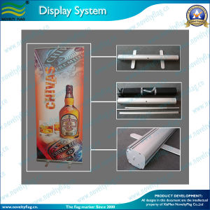 85X200cm High Quality Aluminum Roll up Banner, Roll up Banner Stand (A-NF22M01002) pictures & photos