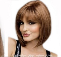 Hot Europe and The United States in Short Hair Wig Sub Wig Manufacturers Wholesale Amazon Explosion Models Supply Cos Wig pictures & photos