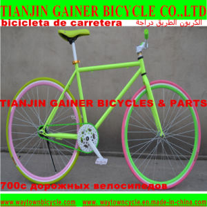 Tianjin Gainer 700c Road Bicycle with Fixed Gear pictures & photos