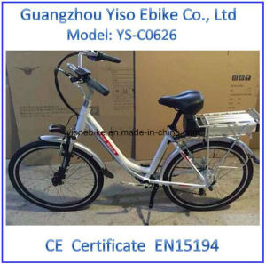 TUV Certificated Full Suspension City Lady Woman Electric Bike pictures & photos
