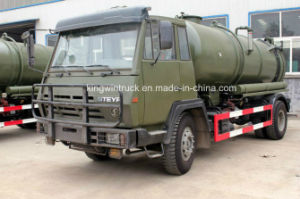 Sinotruk HOWO Brand Suction Sewage Truck/Fecal Suction Truck/Vacuum Sewer Cleaner Truck with 4X2 Driving Type pictures & photos