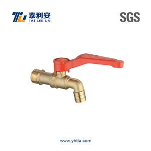 Brass Faucet Tap with Iron Handle (T1066) pictures & photos