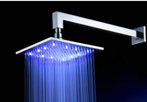 200mm Square Green/ Blue/Red LED Shower Heads pictures & photos