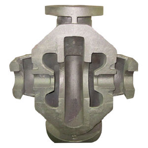 Iron Casting Valve or Pump Body