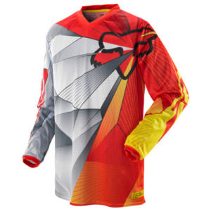 Orange Customizable Racing Jersey/Motocross Racing Jersey (MAT40) pictures & photos