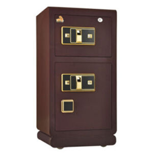 Double Door Fingerprint Safe with High Quality pictures & photos