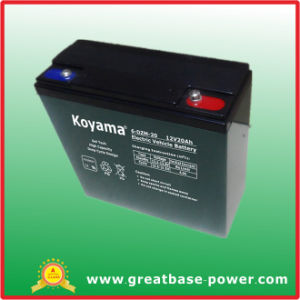 Good Quality Electric Vehicle Battery 12V 20ah pictures & photos