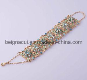 Enamel Flower Bracelet (WWTDC00019)