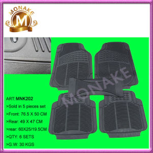 Cheap Custom Rubber/PVC All Weather Floor Mats for Truck/Cars (MNK202) pictures & photos