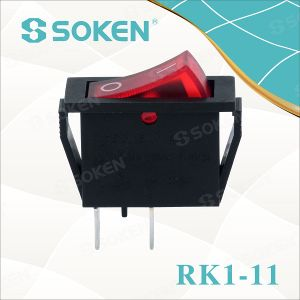 Soken RoHS UL Snap in Rocker Switch T85/Defond Switches pictures & photos