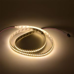 DC5V Apa102c 144PCS LED/M Warm White 5050 with 144pixels LED Pixel Strip pictures & photos