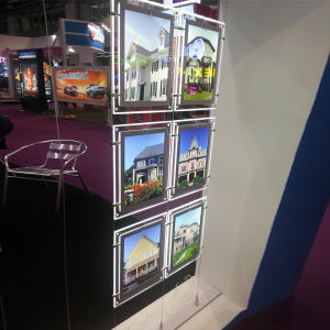LED Acrylic Display Hanging Photot Frame pictures & photos