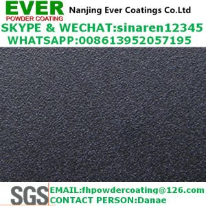 Electrostatic Spray Sand Texture Finish Effect Powder Coating Ral Color pictures & photos