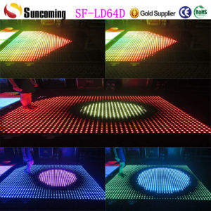 P62.5 Video Dance Floor Portable Black LED Dance Floor pictures & photos