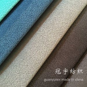 Compound Corduroy Nylon and Polyester Fabric for Sofa pictures & photos