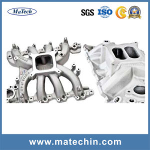 Foundry Custom Aluminum Low Pressure Casting Turbo Exhaust Manifold pictures & photos