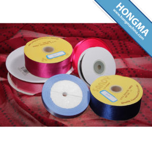 More Than 100 Color Options Satin Ribbon pictures & photos